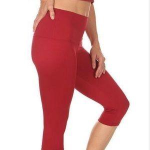 Mika Yoga Wear Mia Capri- High Waisted NWT